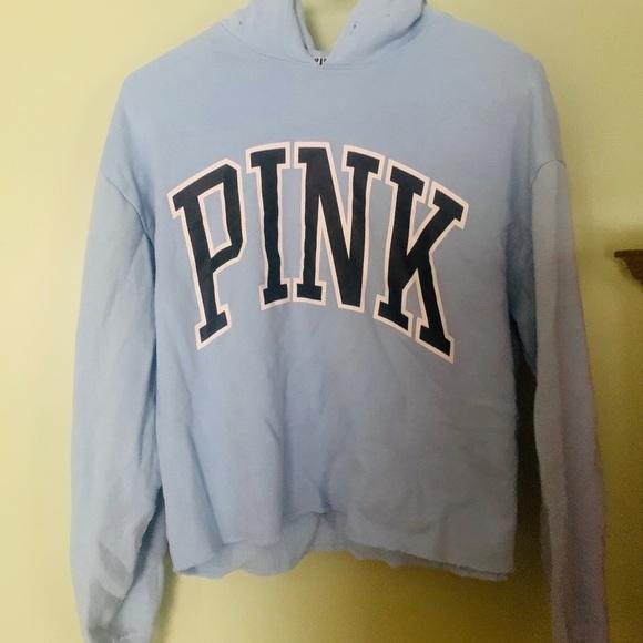 PINK Victoria's Secret Jackets & Blazers - VS PINK Cropped Hoodie